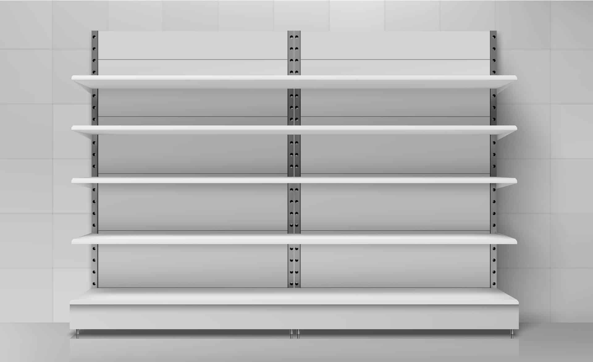 איך להתקין מדפי מתכת מודולריים